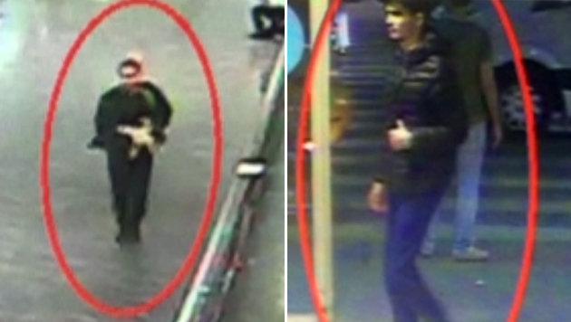 Aufnahmen der �berwachungskameras sollen zwei der drei Attent�ter zeigen. (Bild: twitter.com/HaberturkTV)