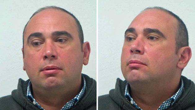 Der Verdächtige Salvatore P. (Bild: Polizei)