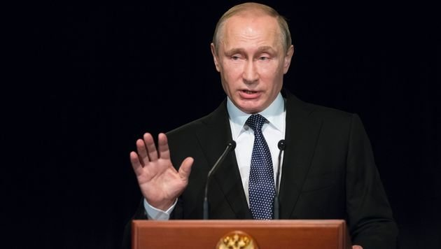 Moskau verlängert Importverbot für EU-Lebensmittel (Bild: APA/AFP/POOL/ALEXANDER ZEMLIANICHENKO)