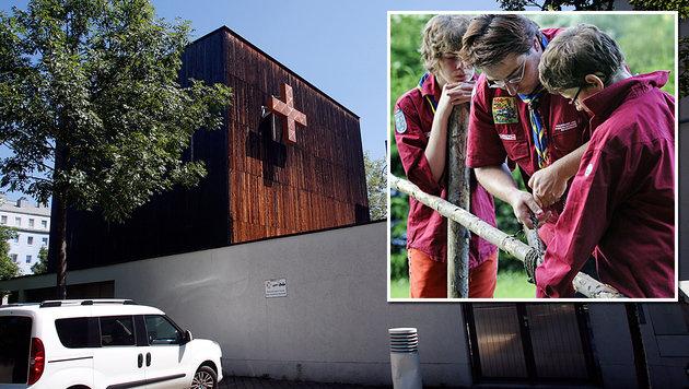 """Das Gemeindezentrum """"Arche"""" in Simmering wurde verkauft. Die Pfadfinder brauchen eine neue Bleibe. (Bild: Martin A. Jöchl, APA/ANDREAS PESSENLEHNER)"""