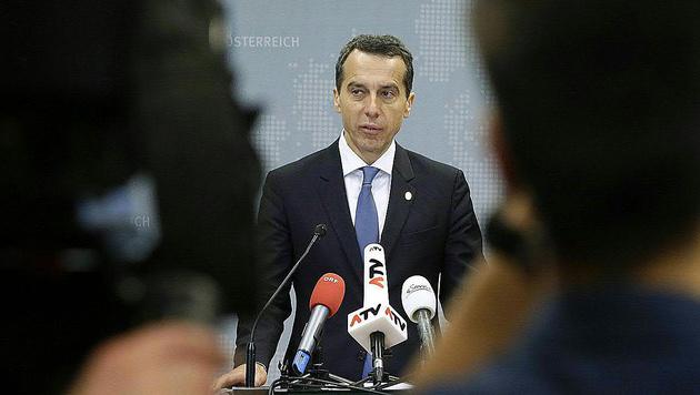 Sowohl Bundeskanzler Christian Kern ... (Bild: APA/BKA/Andy Wenzel)
