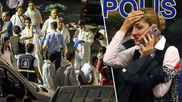 Asyl in Österreich - dann Blutbad in Istanbul? (Bild: APA/AFP/OZAN KOSE, AP)