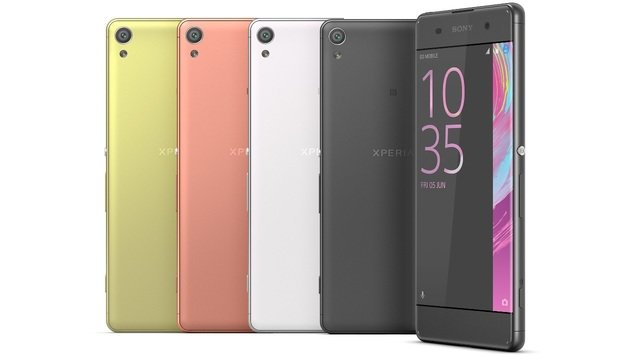 Sony Xperia XA mit fast randlosem Display im Test (Bild: Sony)