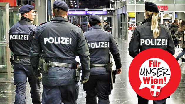 194 Täter bei Drogenrazzien in Wien festgenommen (Bild: Reinhard Holl)