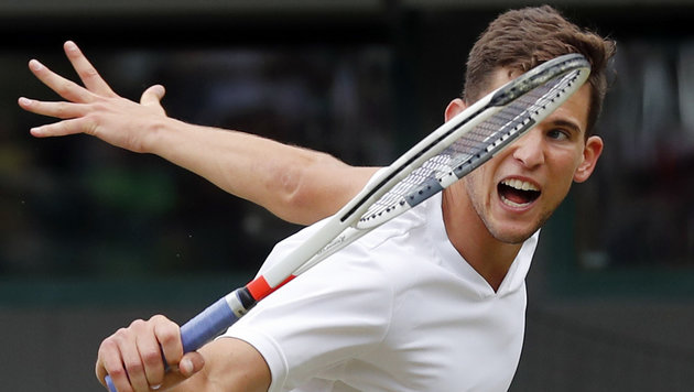 Aufschlag-Monster kickt Thiem in Wimbledon raus (Bild: Copyright 2016 The Associated Press. All rights reserved. This m)