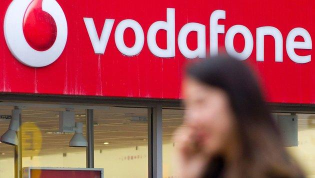 Mobilfunkriese Vodafone beschäftigt in England 13.000 Mitarbeiter. (Bild: AFP)