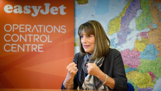 Billigflieger Easyjet könnte seine Firmenzentrale aus Luton bei London abziehen. (Bild: AFP)
