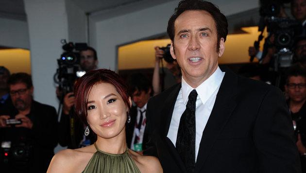 Nicolas Cage und Alice Kim Cage (Bild: Viennareport)