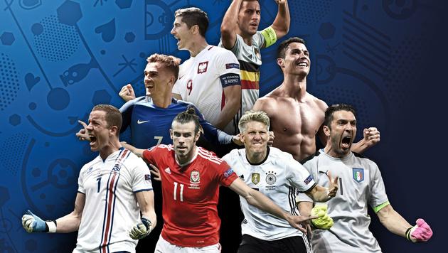 Polen - Portugal: Heute Viertelfinal-Startschuss! (Bild: GEPA)