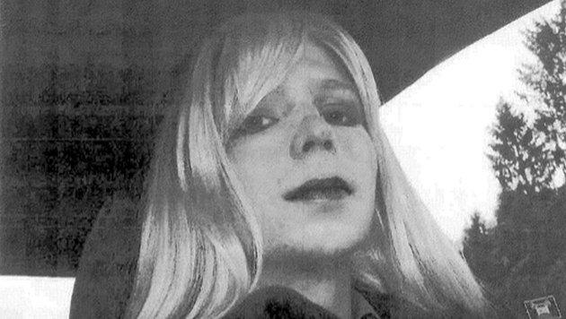Undatierte Aufnahme von Chelsea Manning, die derzeit eine 35-jährige Haftstrafe verbüßt. (Bild: ASSOCIATED PRESS)