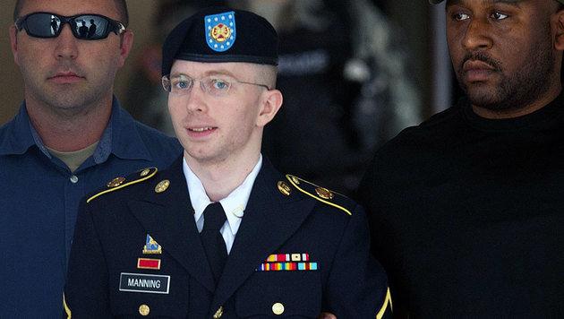 Berühmter Transgender und Ex-Soldat: Der wegen Spionage verurteilte Bradley (heute Chelsea) Manning (Bild: SAUL LOEB/AFP/picturedesk.com)