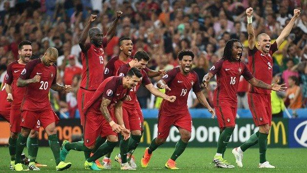 Wahnsinn! Portugal ohne Sieg im Halbfinale (Bild: APA/AFP/ANNE-CHRISTINE POUJOULAT)