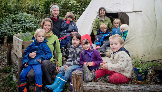 Waldkindergarten: Widerstände gegen ein Projekt (Bild: Waldkindergarten Graz)