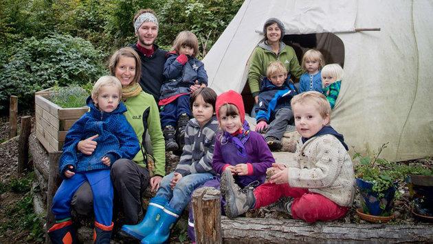 Waldkindergarten: Widerst�nde gegen ein Projekt (Bild: Waldkindergarten Graz)