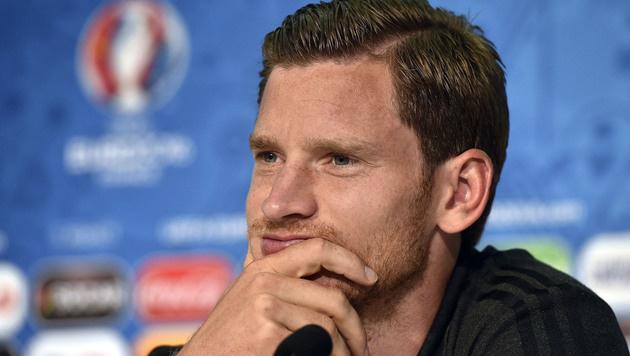 EM-Aus für Belgier Vertonghen (Bild: APA/AFP/UEFA/HANDOUT)