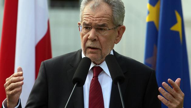 Alexander Van der Bellen (Bild: AP)