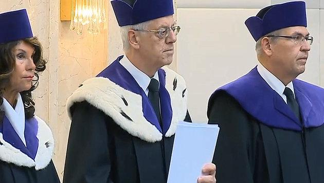 """""""Entscheidung macht niemanden zum Gewinner"""" (Bild: krone.tv)"""