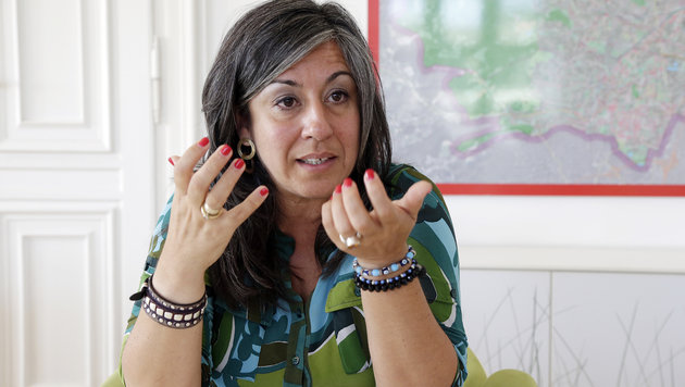 Maria Vassilakou (Bild: Klemens Groh)