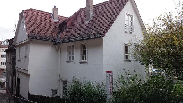 In diesem Haus lebte Elisabeth Schellenberg. (Bild: Universität Kassel/Ehrhardt)