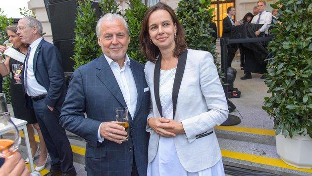 Ministerin Sophie Karmasin und Wolfgang Rosam (Bild: ViennaPress / Andreas TISCHLER)