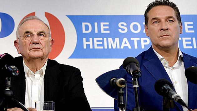 """FPÖ: """"Dieses Urteil ist kein Grund zum Jubeln"""" (Bild: APA/Herbert Neubauer)"""