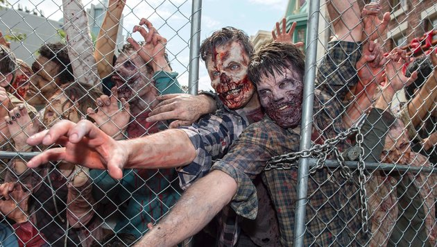 """""""Walking Dead"""" überrennen die Universal Studios (Bild: APA/AFP/VALERIE MACON)"""