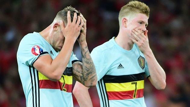 Wales schaltet auch Geheimfavoriten Belgien aus! (Bild: AFP)