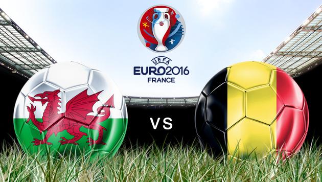 """Belgien mit """"Heimvorteil"""" gegen Wales (Bild: GEPA)"""
