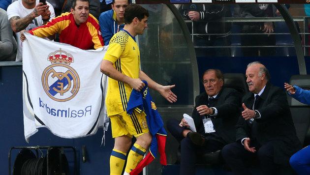 Del Bosque stänkert gegen Unruhestifter Casillas (Bild: GEPA)