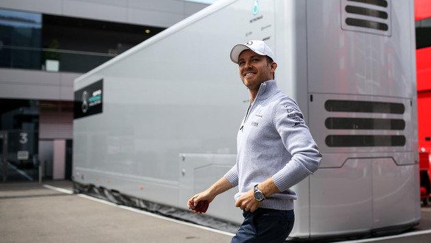 Nico Rosberg mit Bestzeit im ersten Training (Bild: GEPA)
