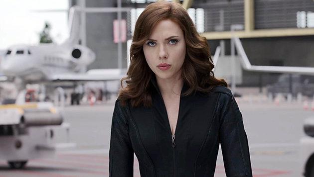 """Scarlett Johansson in """"Captain America: Civil War"""" (Bild: Viennareport)"""