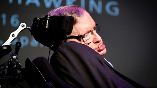 US-B�rgerin wollte Physiker Hawking ermorden (Bild: APA/AFP/Desiree Martin)