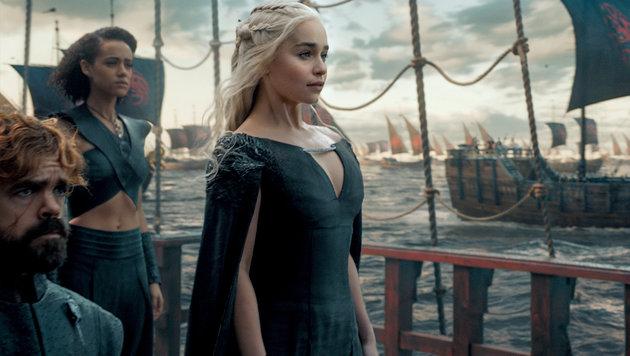 """Daenerys ist Jon Snows Tante, doch das wissen im Moment nur die """"GoT""""-Zuschauer. (Bild: HBO)"""