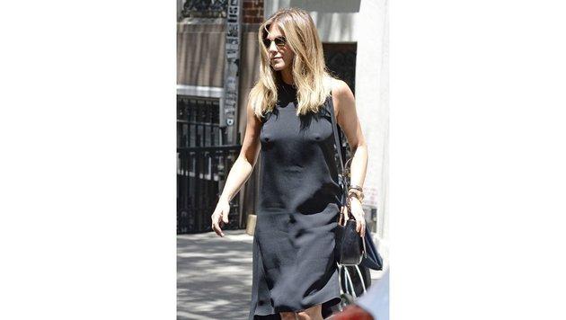 Jennifer Aniston ist rank und schlank wie eh und je. (Bild: AUG/face to face)