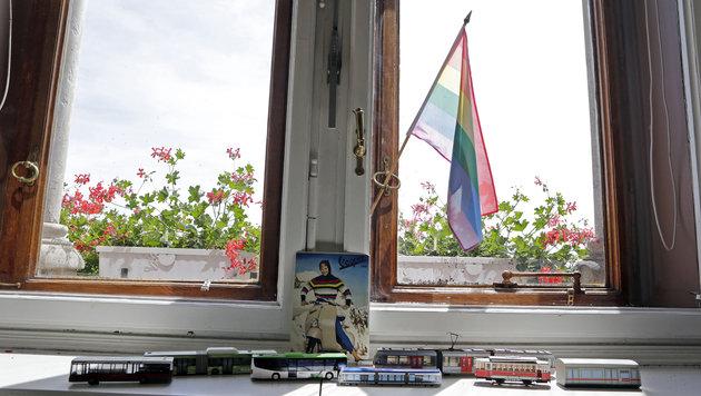 """""""Krone""""-Blick ins Büro von Maria Vassilakou (Bild: Klemens Groh)"""
