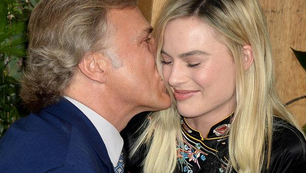 Christoph Waltz und Margot Robbie (Bild: Viennareport)
