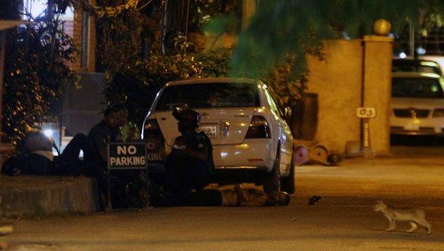 28 Tote nach Geiselnahme durch IS-Terroristen (Bild: APA/AFP/STR)