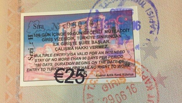 Das 25-Euro-Visum