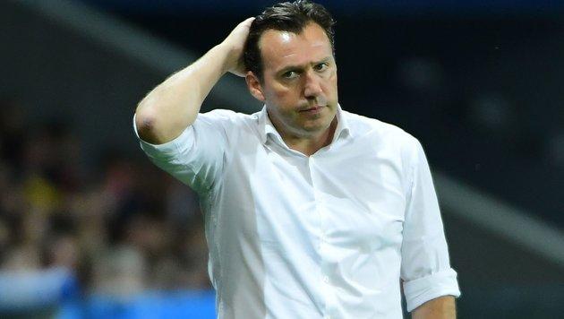 Belgien-Coach: Kritik aus den eigenen Reihen! (Bild: APA/AFP/EMMANUEL DUNAND)