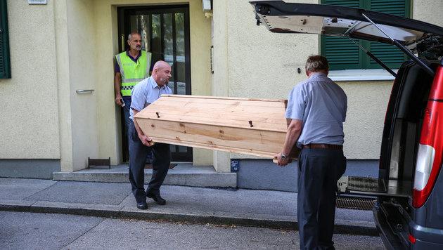 Mord in Linz: Erinnerungslücke statt Geständnis (Bild: APA/MATTHIAS LAUBER)