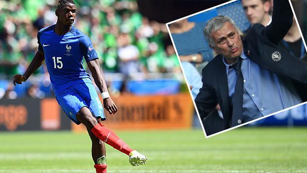 Pogba ist Mourinho 96 Millionen Euro wert (Bild: APA/AFP/FRANCK FIFE, APA/AFP/JUSTIN TALLIS)