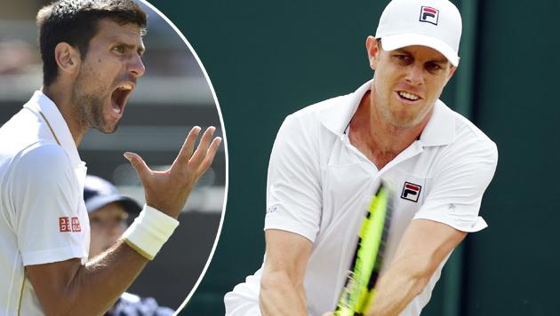 Sensation! Querrey schlägt Djokovic in Wimbledon (Bild: APA/AFP/GLYN KIRK)