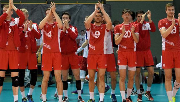 Volleyball: Österreich holt Europa-Liga-Bronze (Bild: GEPA)