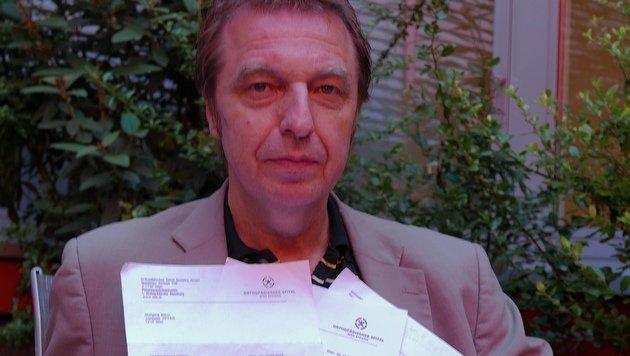 Wolfgang Bohrn muss eineinhalb Jahre auf einen Untersuchungstermin warten. (Bild: Gerhard Bartel)