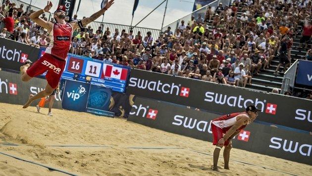 Beachboys Doppler/Horst verpassen Major-Sieg knapp (Bild: majorseries.com)