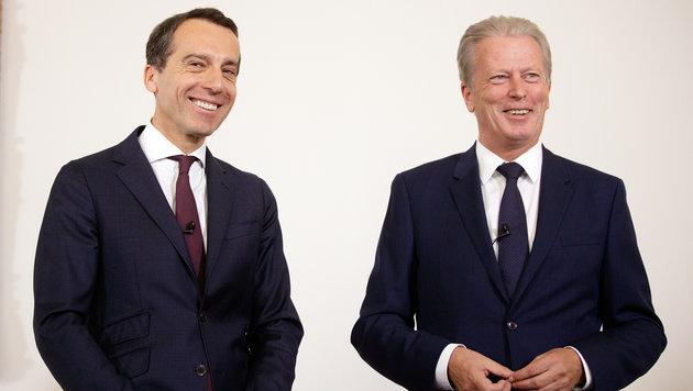 Doch noch Gnadenfrist für die Große Koalition (Bild: APA/GEORG HOCHMUTH)