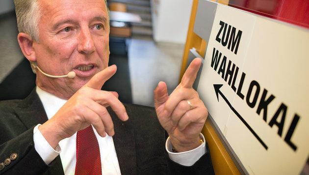 Helmut Mödlhammer, Präsident des Gemeindebundes (Bild: APA/GEORG HOCHMUTH, APA/NEUMAYR/MMV)