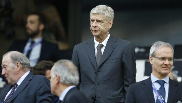 England-Traineramt für Wenger derzeit kein Thema (Bild: AP)