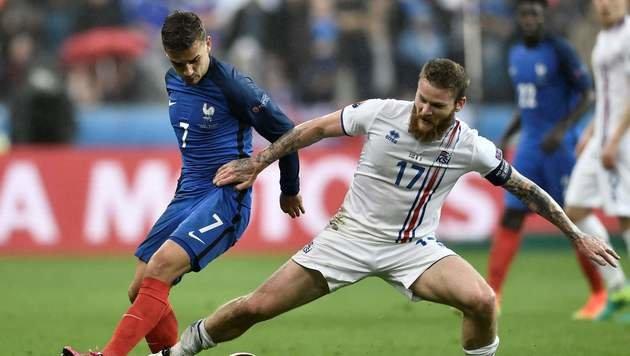 Frankreichs Zaubershow beendet Islands Märchen (Bild: AFP or licensors)