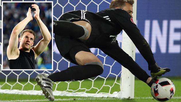 """Held Neuer: """"Es war das irrste Penaltyschießen!"""" (Bild: AP)"""